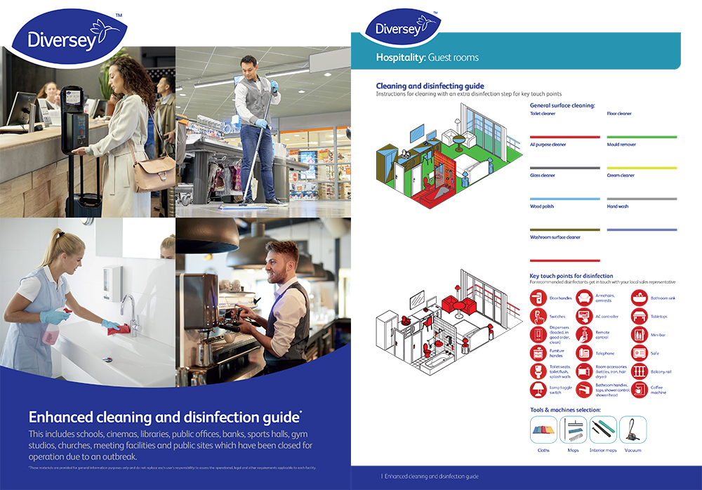 Diversey Enhanced Cleaning And Disinfection Guide