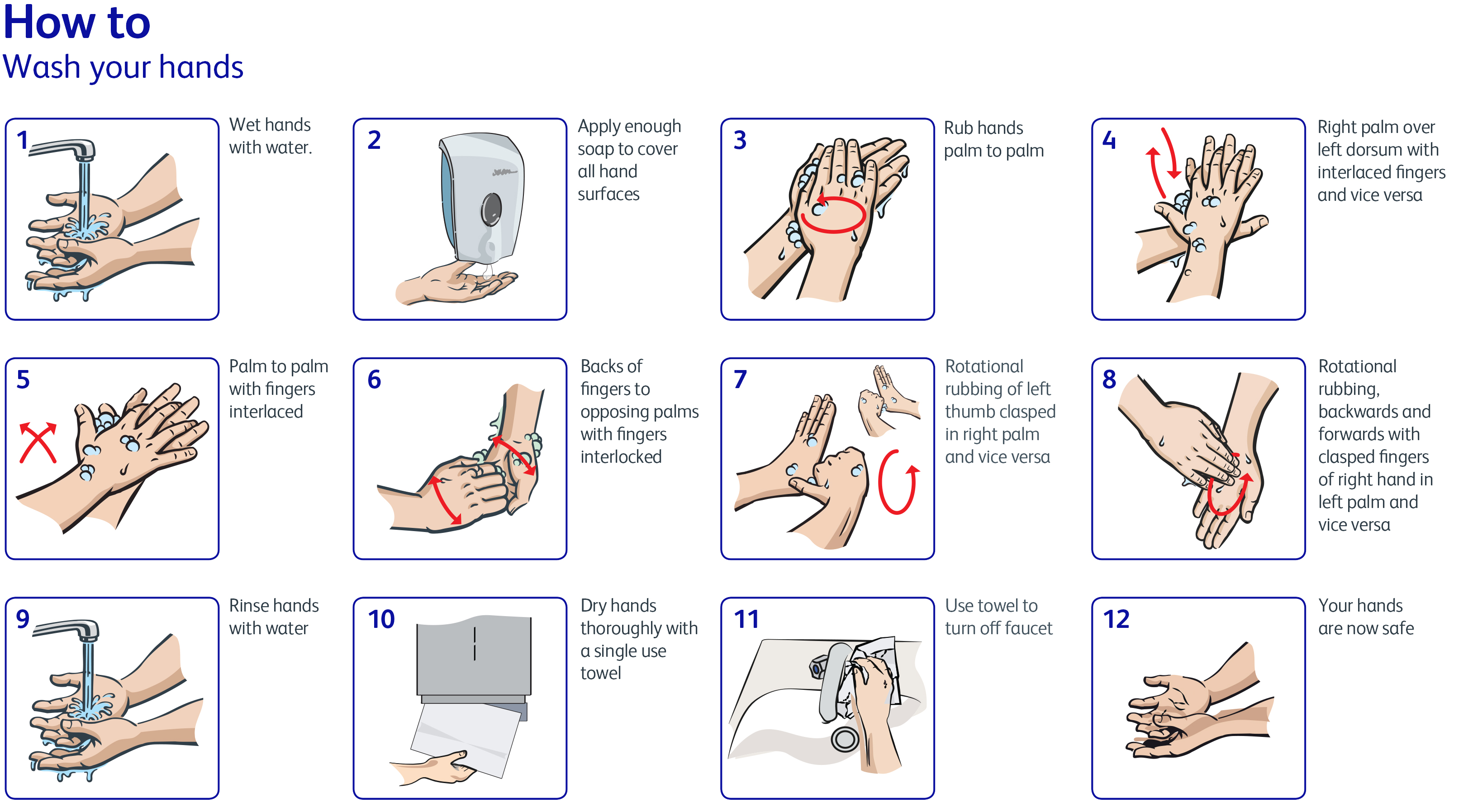 Diversey Outbreak Prevention: How To Wash Your Hands