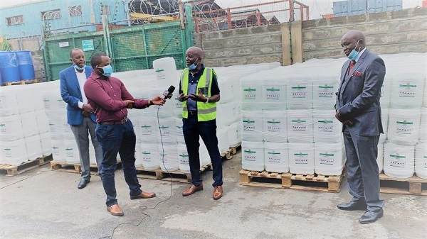 manufacturing hand sanitizer for kenya