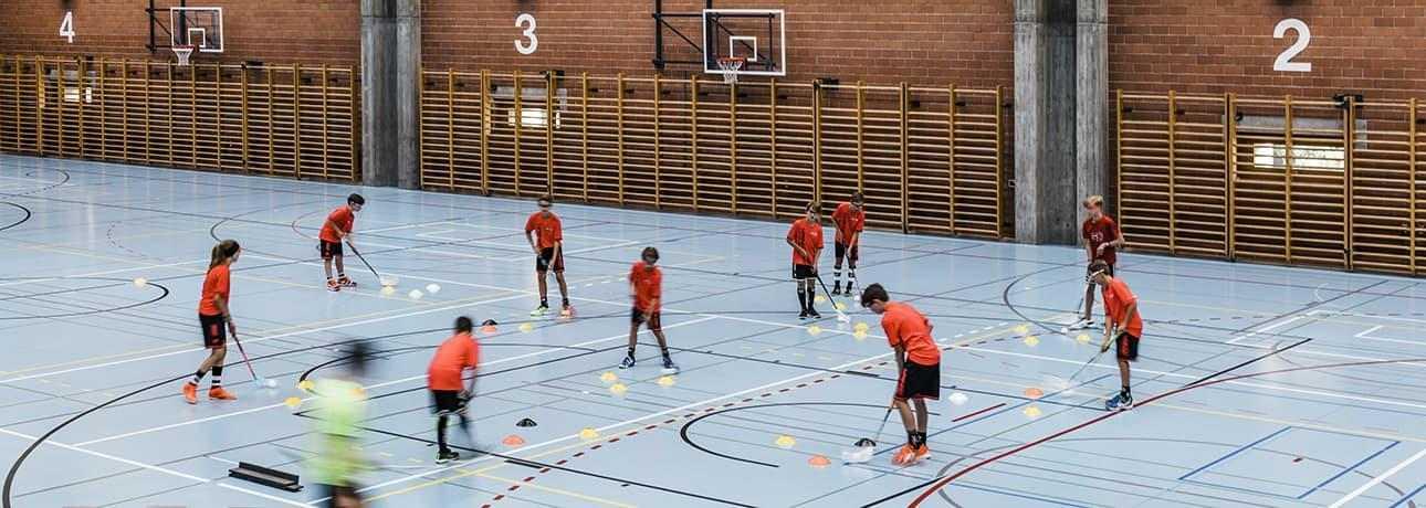TASKI SwingoBot At The Cantonal School of Graubünden
